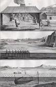 Fischen - Hering-Fischerei - 1793 - IN-FOLIO - Plate 97 - Sammlung Diderots Enzyklop�die