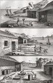 Fischen - Waschen der Sardinen - 1793 - IN-FOLIO - Plate 96 - Sammlung Diderots Enzyklop�die