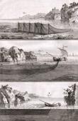 Fischen - Hering-Fischerei - 1793 - IN-FOLIO - Plate 93 - Sammlung Diderots Enzyklop�die