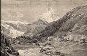 View of Zermatt - Matterhorn - Cervino - Canton du Valais (Switzerland)