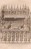 Tomb of the Cardinals of Amboise - Rouen Cathedral (France)