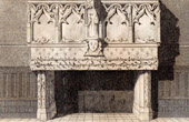 Hearth at Cr�py-en-Valois (France) - 15th Century