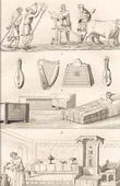 Altsachen - Landwirtschaft - Musikinstrumenten - Alti M�bel - 12. Jahrhundert (Frankreich)