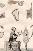 Altsachen - Musikinstrumentenl - 13. Jahrhundert (Frankreich)