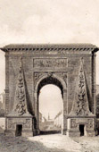 History and Monuments of Paris - Porte Saint Denis