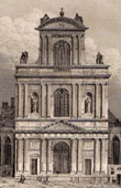 Historical Monuments of Paris - Saint Gervais Church (Saint-Gervais-Saint-Protais)