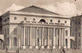 Historical Monuments of Paris - Odeon Theatre - XVIIIth Century