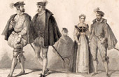 French Fashion History - 16th Century - XVIth Century - Nobility - Fashion during the Reign of Henry III of France (1572)