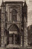 View of Paris - Chapel Saint Yves