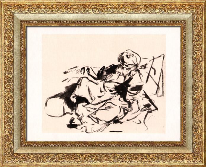 Gravures Anciennes & Dessins | Orientalisme - Le Pacha (Jean Honoré Fragonard) | Héliogravure | 1950