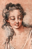 Head of Woman (Fran�ois Boucher)
