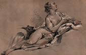 Female Nude (Fran�ois Boucher)
