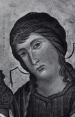 Angel - Virgin Mary - Madonna - Maest� (Cimabue - Cenni di Pepo)