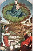 Angel - God Appears to Moses in the Burning Bush (Nicolas Froment)