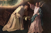 Angel - The Vision of Saint Peter Nolasco (Francisco de Zurbar�n)