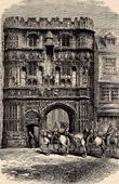 View of Canterbury - Precinct's Door - England (United Kingdom )