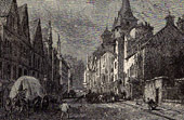 View of Edinburgh - Canongate Tolbooth (Scotland)