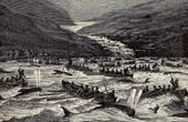 F�r�er - Fischerei an der Wasserrinne