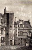 Historical Monuments of Paris - H�tel de Cluny