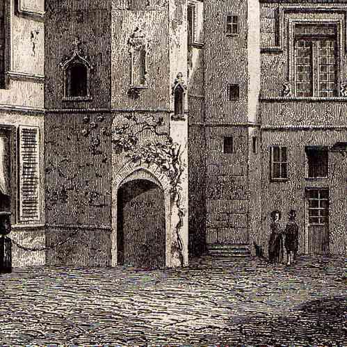 Stampe antiche monumenti storici di parigi francia for Piani di piantagione storici