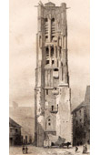 Historical Monuments of Paris - Saint-Jacques Tower - Tour Saint-Jacques