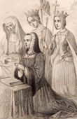 Anne of Brittany in Prayer (1477-1514)