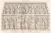 St Calminschrein - Abtei von Mozac - XII. Jahrhundert