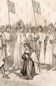 Coronation of Charles VI, King of France called Charles the Beloved and Charles the Mad (November 4th 1380)