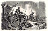 Nesles massacre (June 25th, 1472)