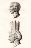 Roman Monument - Cybele Bronze Head
