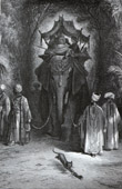 La Fontaines Fabeln - Die Ratte und der Elefant (Gustave Doré)