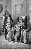 Fables of La Fontaine - The Cobbler and the Financier (Gustave Doré)