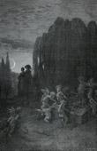 Fables de La Fontaine - La Jeune Veuve (Gustave Dor�)