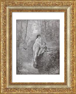 Fables de La Fontaine - La Fortune et le Jeune Enfant (Gustave Dor�)