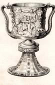 Carolingians - Agate Coupe - IXth Century - France