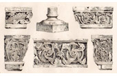 Sculptures - XIth Century - Church of Nantua (France)