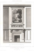 Drawing of Architect - Architecture - Woodworking - Hearth (F. Roguet)