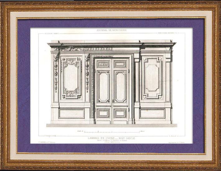 Gravures anciennes dessin d 39 architecte architecture for Architecture 17eme siecle