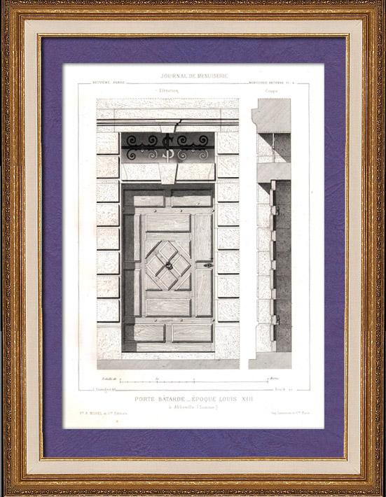 Gravures anciennes gravures de abbeville for Architecte abbeville