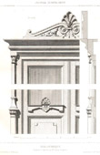 Drawing of Architect - Architecture - Woodworking - Bookcase - Details (M. Drovin)