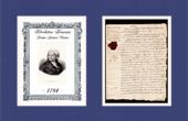 Documento Hist�rico - Revoluci�n Francesa - 1784 - Danton estudia el derecho a la facultad de Reims