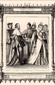 French Fashion and Costumes - 16th Century - XVIth Century - Courtesans - Members of Parliament