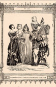 French Fashion and Costumes - 14th Century - XIVth Century - Nobility - Hunt - Hunting - Buffoon