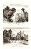 Historical Monuments of France - Castle of La Rochefoucauld - Abbey of La Couronne (Charente)