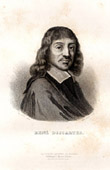 Portrait of Descartes (1596-1650)