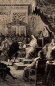 The Acad�mie Fran�aise established in 1635 by Cardinal Richelieu