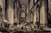 Cathédrale Saint-Gatien de Tours - Pillage par les Protestants (1562) - Guerres de religion