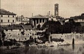 View of Rome (Italy) - Cloaca Maxima - Forum Romanum