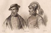 Mexico - Spanish Conquistador - Hern�n Cort�s - Gonzalo de Sandoval