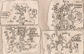 Mexiko - Aztekisches Manuskript